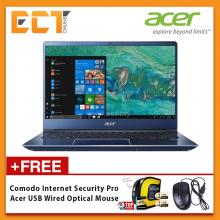 """Acer Swift 3 SF314-54G-52L8/59WJ Laptop (i5-8250U 3.40GHz,1TB+128GB,4GB,NV MX150-2GB,14"""" FHD,W10) - Blue/Red"""