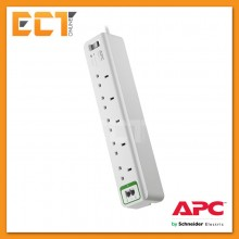 APC PM5T-UK Essential SurgeArrest 5 outlets with Phone Protection 230V UK