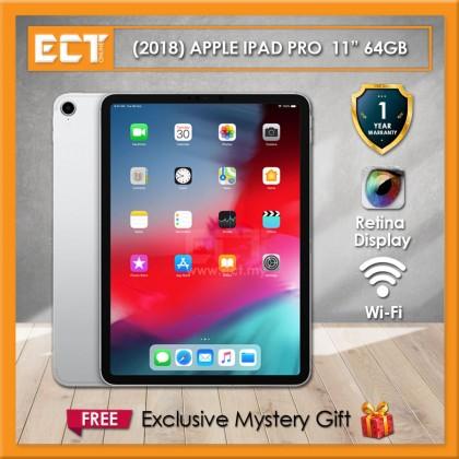"(2018) Apple iPad Pro MTXP2ZP/A 64GB 11"" (A12X 2.50GHz,64GB,WiFi,11"") - Silver"