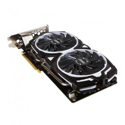 (Demo Set) MSI GeForce GTX 1060 Armor OC 6GB DDR5 192-Bit PCI-E Graphics Card (3 DP, 1 HDMI, 1 DVI)
