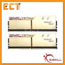 (Pre-Order) G.Skill Trident Z Royal RGB 16GB (8GBx2) DDR4 3600MHz Gaming Desktop/PC RAM (F4-3600C18D-16GTRG)
