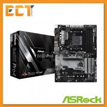 Asrock B450 Pro4 AMD4 Socket 6 PCI-E Slot ATX Form Factor Motherboard