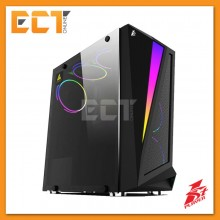 1STPLAYER Rainbow R5 Tempered Glass LED Strip ATX Gaming Casing / Chassis