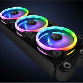 Thermaltake Riing Trio 12 LED RGB Radiator Fan TT Premium Edition (3-Fan Pack) CL-F072-PL12SW-A