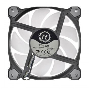 Thermaltake Pure Plus 14 LED RGB Radiator Fan TT Premium Edition (3-Fan Pack) CL-F064-PL14SW-A