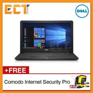 """Dell Inspiron 15 3585 Laptop (Ryzen 5-2500U 3.60Ghz,1TB,4GB,15.6""""FHD,W10) - Black"""