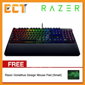 Razer Blackwidow Elite - Yellow Switch (Hybrid on-board memory, Digital dial + Media Keys, Cable Routing) - RZ03-02622000-R3M1