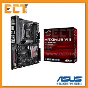 Asus Maximus VIII Extreme 1151 Socket 6 PCI-E Slot Extended ATX Form Factor Motherboard