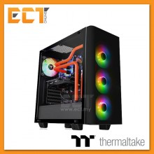 Thermaltake View 21 Tempered Glass RGB Plus Edition Mid Tower Chassis CA-1I3-00M1WN-05