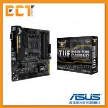 Asus TUF B450M-Plus Gaming AM4 Socket 4 PCI-E Slot Micro ATX Form Factor Motherboard