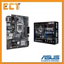 Asus Prime B360M-K 1151 Socket 3 PCI-E Slot Micro ATX Form Factor Motherboard