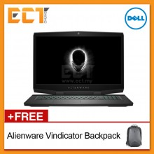 "Dell Alienware 17 M17-8716128G-2080-UHD 17.3"" UHD Gaming Laptop (i7-8750H 4.10Ghz,256GB SSD+1TB,16GB,GTX2080-8GB,W10)"