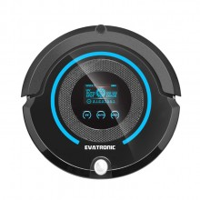 Evatronic A338 High Performance Multifunctional Robot Vacuum Cleaner (Black)