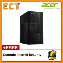 Acer Aspire ACR-ATC865-8100F Desktop PC (I3-8100 3.60GHz,1TB,4GB,W10) - Black