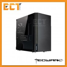 Tecware M2 TG Micro ATX Mid Tower Gaming Case With Illuminated Logo