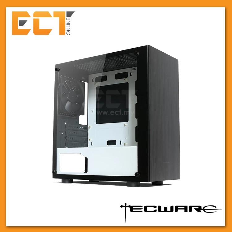 Tecware Nexus M Tg Micro Atx Mid Tower Gaming Case Black