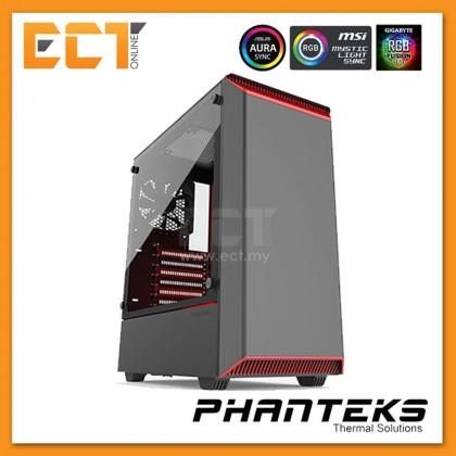 (Pre Order) Phanteks ECLIPSE P300 Tempered Glass (RGB) - Black/BlackRed/BlackWhite/White