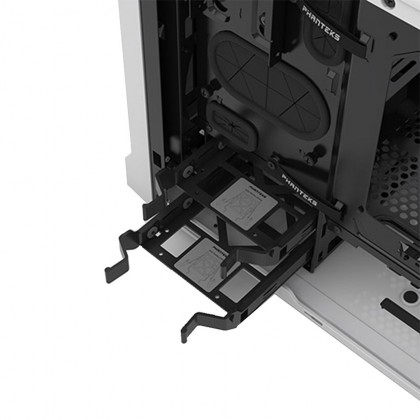 (Pre Order) Phanteks ENTHOO EVOLV ITX Tempered Glass - White