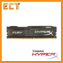 (Pre Order) Kingston Hyperx FURY Memory Black - 4GB Module - DDR4 2400MHz CL15 DIMM