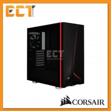 Corsair Carbide SPEC-06 Tempered Glass Mid-Tower Gaming Case - Black/White