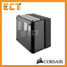 Corsair Crystal Series 280X Tempered Glass Micro ATX PC Case - Black/White
