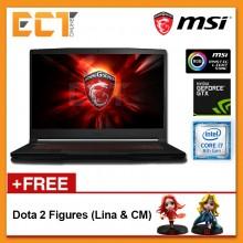 "MSI GF63 8RCS-050 Gaming Laptop (i7-8750H 4.10GHz,256GB,4GB,GTX1050-4G,15.6"" FHD,W10P)"