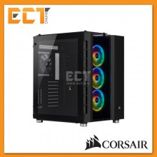 Corsair Crystal Series 680X RGB ATX High Airflow Tempered Glass Smart Case - Black/White