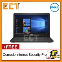 """Dell Inspiron 15 3576 Laptop (i5-8250U 3.40Ghz,1TB,4GB,AMD 520-2GB D5,15.6""""FHD,W10P)"""