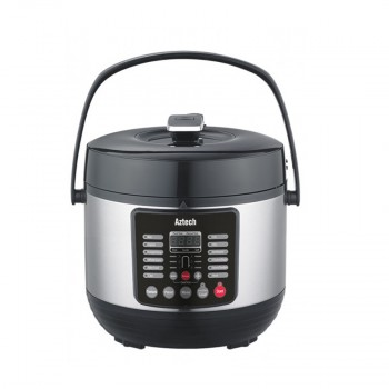Aztech APC2100 Pressure Cooker 5.0L with Digital LED Display