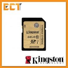Kingston 64GB Class 10 UHS-I Waterproof MicroSD (SDA10/64GBCP)