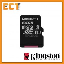 Kingston 64GB Canvas Select microSDHC Class10 UHS-I U1