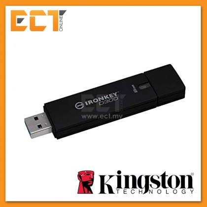 (Pre-Order) Kingston Ironkey D300 Standard Encrypted Drives - 4GB/8GB/16GB/32GB/64GB/128GB