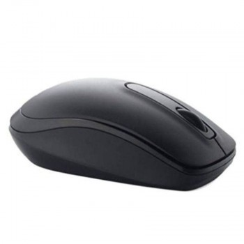 Genuine Dell WM118 1000 DPI USB Wireless Optical Mouse - Black
