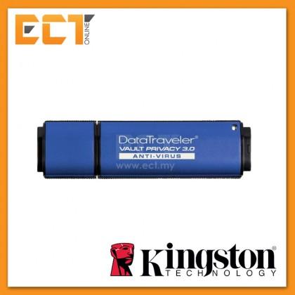 Kingston DT Vault Privacy with Anti Virus USB 3.0 Flash Drive 4GB/8GB/16GB/32GB/64GB