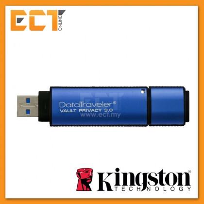 Kingston DT Vault Privacy Standard USB 3.0 Flash Drive 4GB/8GB/16GB/32GB/64GB