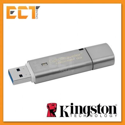 Kingston DataTraveler Locker + G3 USB 3.0 Encrypted Drives 8GB/16GB/32GB/64GB