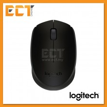 Genuine Logitech M171 Wireless Mouse - Grey Black