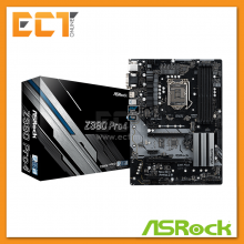 Asrock Z390 Pro4 ATX 1151 Socket 5 PCI-E Slot ATX Form Factor Motherboard