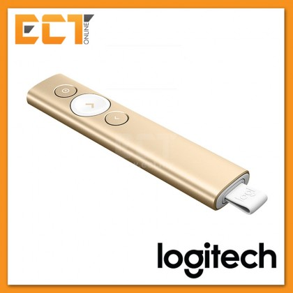 Logitech Spotlight Presentation Remote - Slate/Gold
