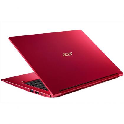 """Acer Aspire 3 SF314-55-50AN/50YA Laptop (i5-8265U 3.90GHz,256GB,8GB,MX250-2GB,14"""" FHD,W10) - Red / Silver"""