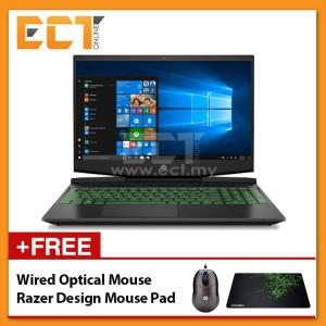 """HP Gaming Pavilion 15-DK0010TX Laptop (i5-9300H 4.10GHz,1TB,4GB,NV GTX1050-4GB,15.6"""" FHD,W10) - Black"""