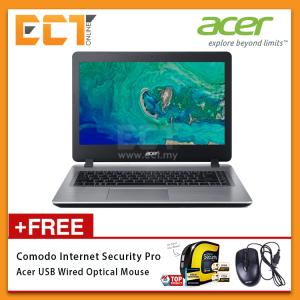 """Acer Aspire 5 A514-51-391A Laptop (i3-8145U 3.90GHz,1TB,4GB,14"""" FHD,W10) - Silver"""