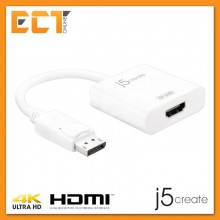 j5create JDA158 DisplayPort to 4K HDMI Active Adapter