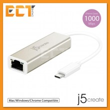 j5create JCE131 Type-C Gigabit Ethernet Adapter