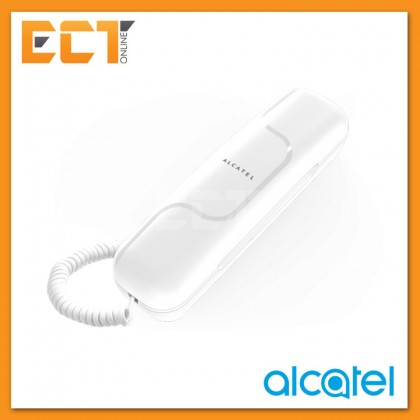 Alcatel T06 - Home and Business Ultra-compact Slim Phone - Black / White