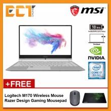 "MSI Modern PS42 8RB-431 Gaming Laptop (i7-8550U 4.00GHz,256GB,16GB,NV MX150-2G,14"" FHD,W10)"