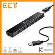 j5create JUH377 USB 3.0 7-Port Hub