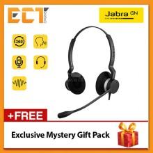 Jabra Biz 2300 Duo Wired Professional Headset - Black