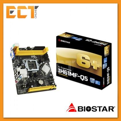 Biostar IH61MF-Q5 Intel H61 Socet LGA1155 M-ATX Motherboard