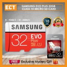 Samsung EVO Plus Class 10 32GB microSDHC Micro SD Card with Adapter (10 Years Warranty)